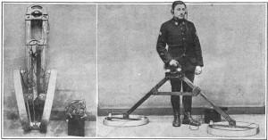 Historický detektor kovu