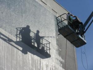 Využití montážních plošin