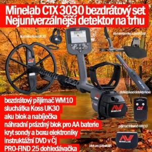 detektor kovu Minelab ctx3030